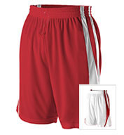 Custom Reversible Basketball Short by Alleson Mens