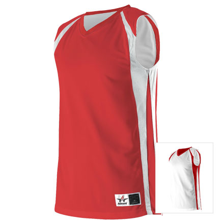 13aab946062 Custom Youth Reversible Basketball Jersey by Alleson Athletic