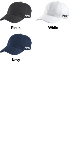 Ping Washed Chino Cap - All Colors