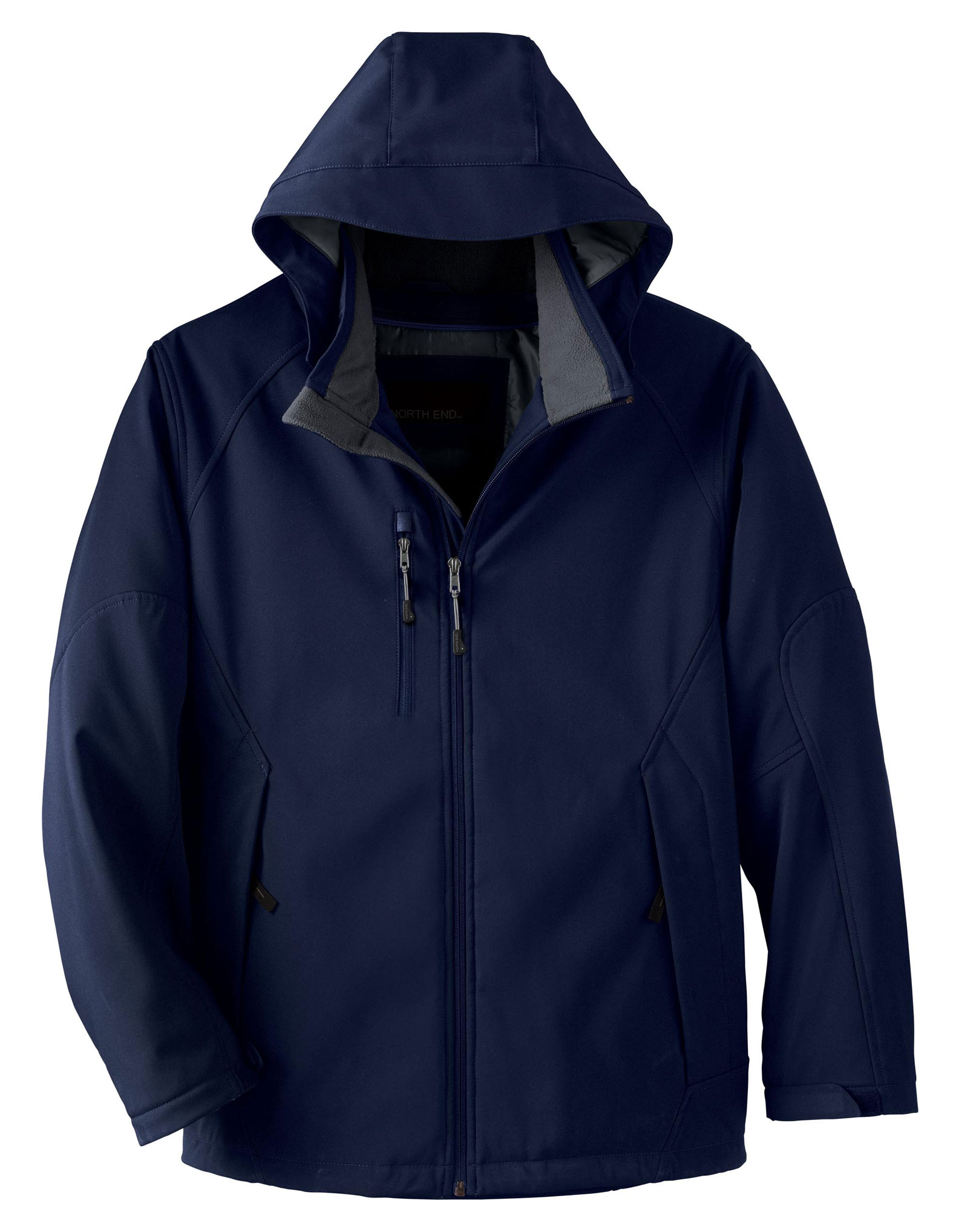 North End Mens Glacier Insulated Soft Shell Jacket