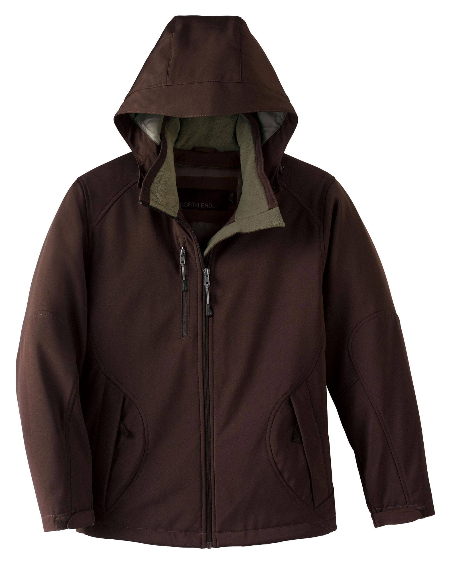 North End Ladies Glacier Insulated Soft Shell