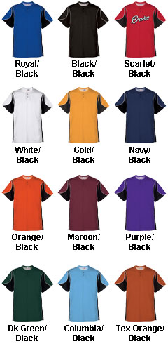 Youth Crossbow 2-Button Jersey - All Colors