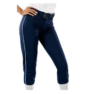 Custom Womens 14 oz Low Rise Piped Pro Style Pant