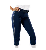 Custom Youth Girls 14 oz Low Rise Piped Pro Style Pant