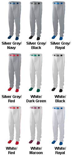 11 oz. Baseball/Softball Pant With Piping - All Colors