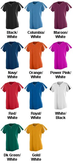 Ladies Wicking Performance Softball Jersey - The Diamond - All Colors