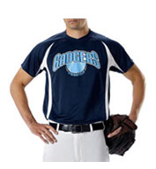 Custom Youth Color Block Baseball Jersey by Alleson