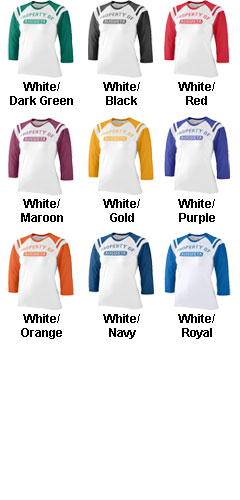 Girls Cotton/Spandex Legacy Tee - All Colors