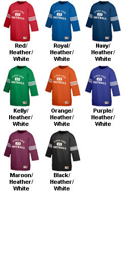 Youth Old School Football Jersey T-Shirt - All Colors