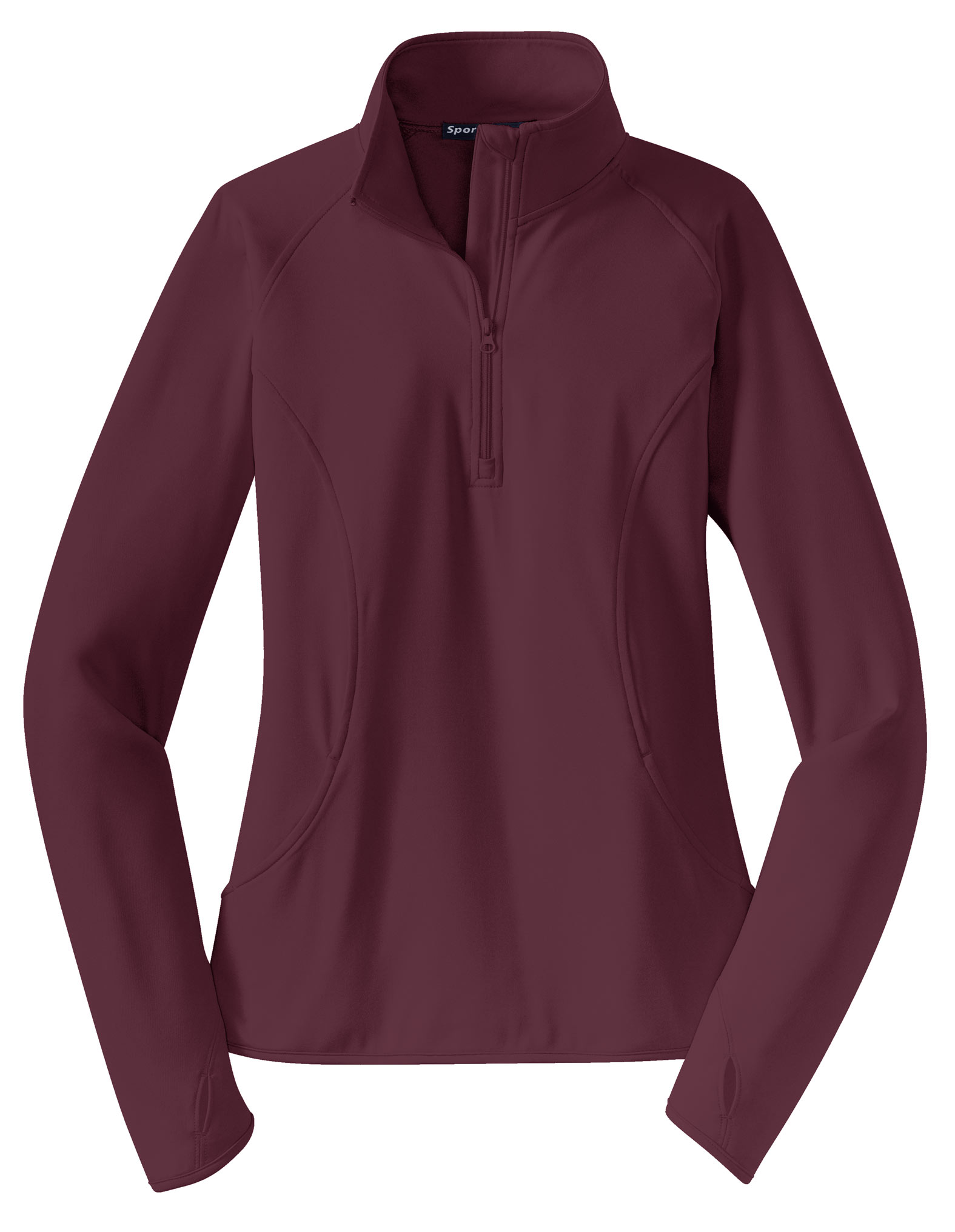 Customize Ladies Sport Wick Stretch 12 Zip Pullover