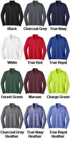 Sport-Wick® Stretch 1/2-Zip Pullover  - All Colors
