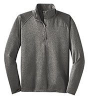 Custom Sport-Tek® Sport-Wick® Mens Stretch 1/2-Zip Pullover