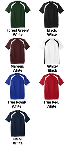 Sport-Tek® - Dry Zone™ Colorblock Mens Crew - All Colors