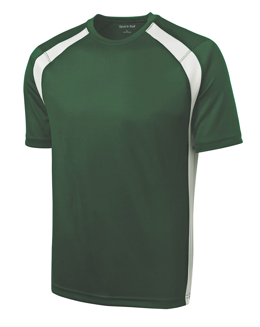 Sport-Tek® Dry Zone™ Colorblock Mens Crew
