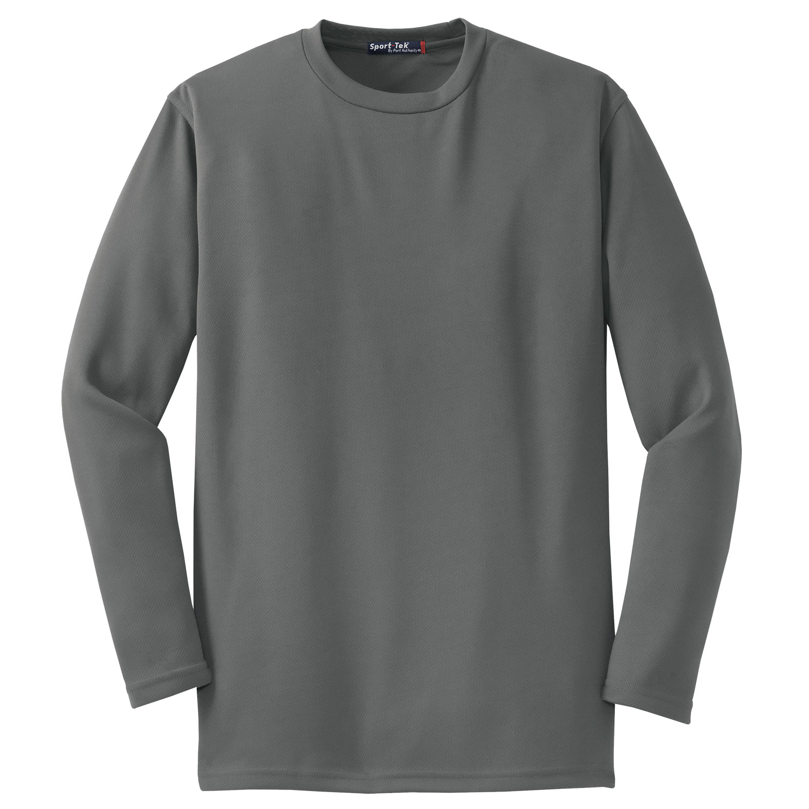 Sport-Tek® - Mens Dri-Mesh® Long Sleeve T-Shirt