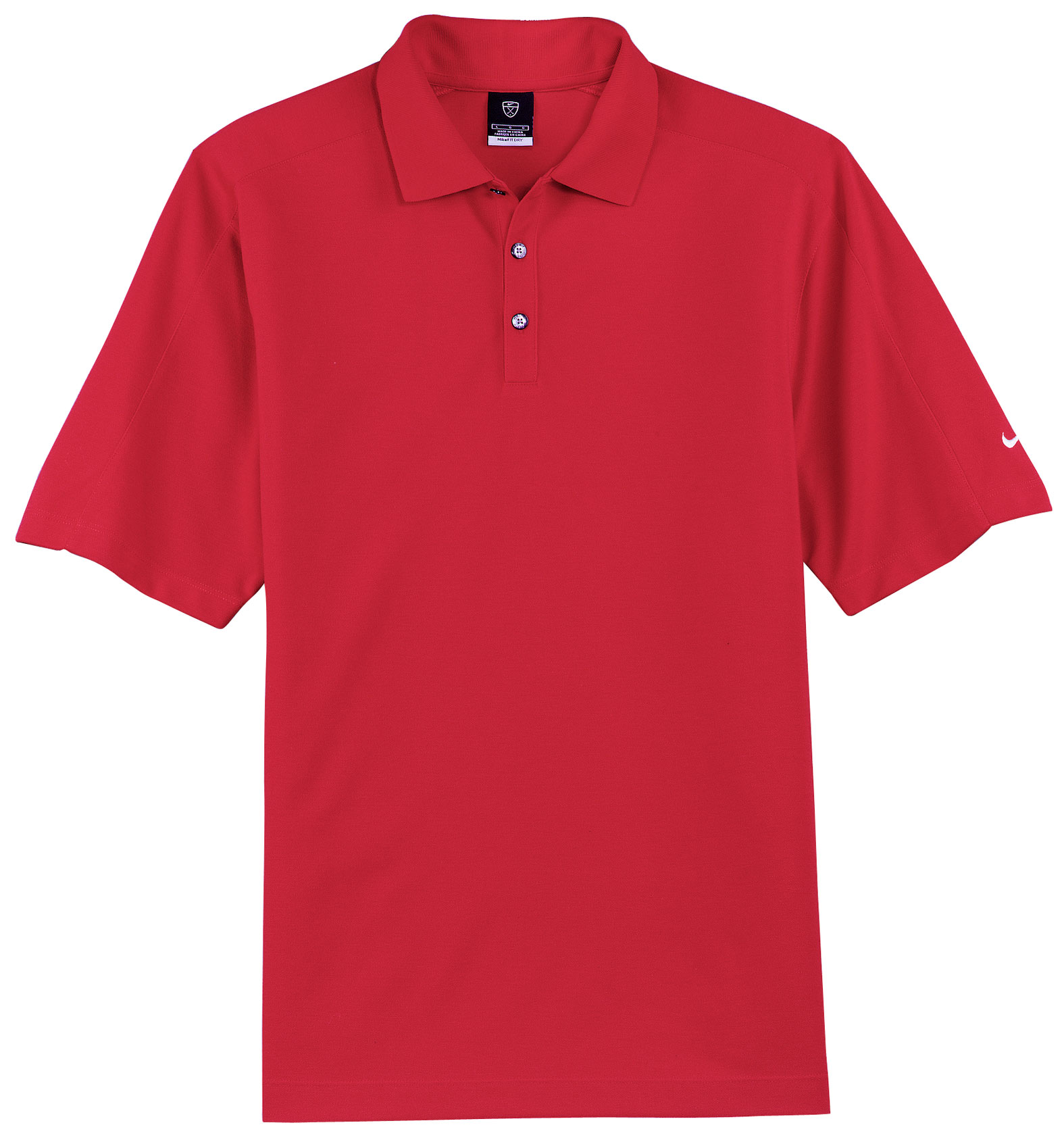 Nike Golf Mens Dri-FIT Pique II Polo
