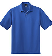 Custom Nike Golf Mens Dri-FIT Pebble Texture Polo