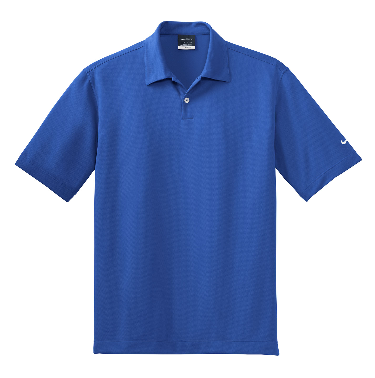 Nike Golf Mens Dri-Fit Pebble Texture Polo