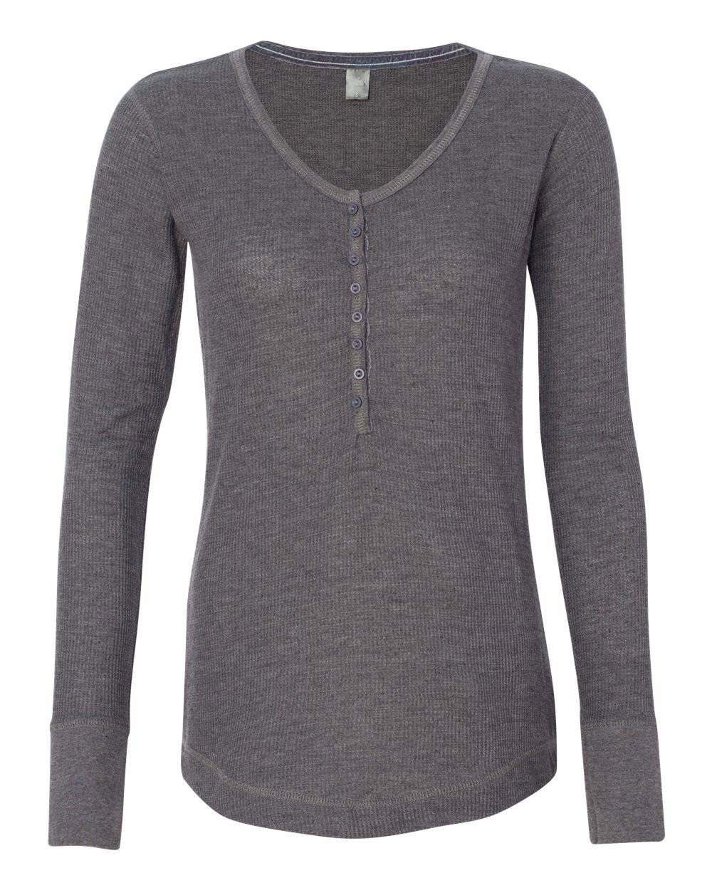 J. America - Ladies Thermal Henley
