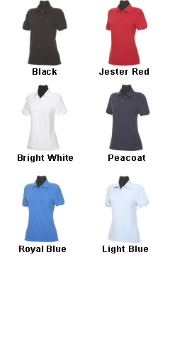 Ladies Classic Pique Polo by Callaway - All Colors