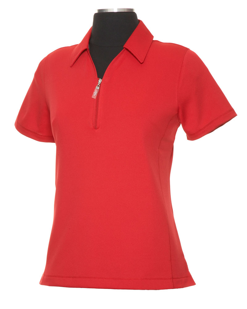 Ladies Dry Solid Polo
