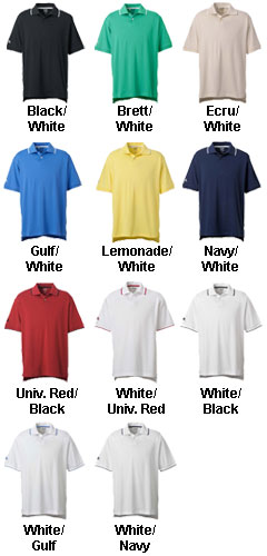 Adidas Golf Mens ClimaLite® Tour Jersey Short-Sleeve Polo - All Colors