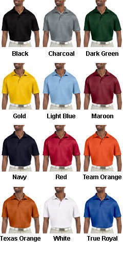 Custom Mens Polytech Polo Shirt - All Colors