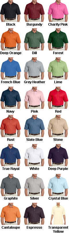 Mens Pima Piqué Short-Sleeve Polo - All Colors