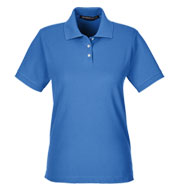 Custom Devon & Jones Ladies Pima Piqué Short-Sleeve Polo