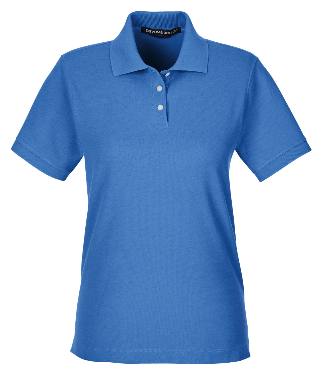 Ladies Pima Piqué Short-Sleeve Polo