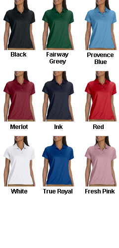 Chestnut Hill Ladies Technical Performance Polo - All Colors