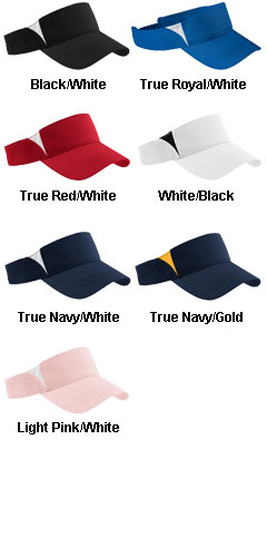 Sport-Tek® - Dry Zone™ Colorblock Visor - All Colors