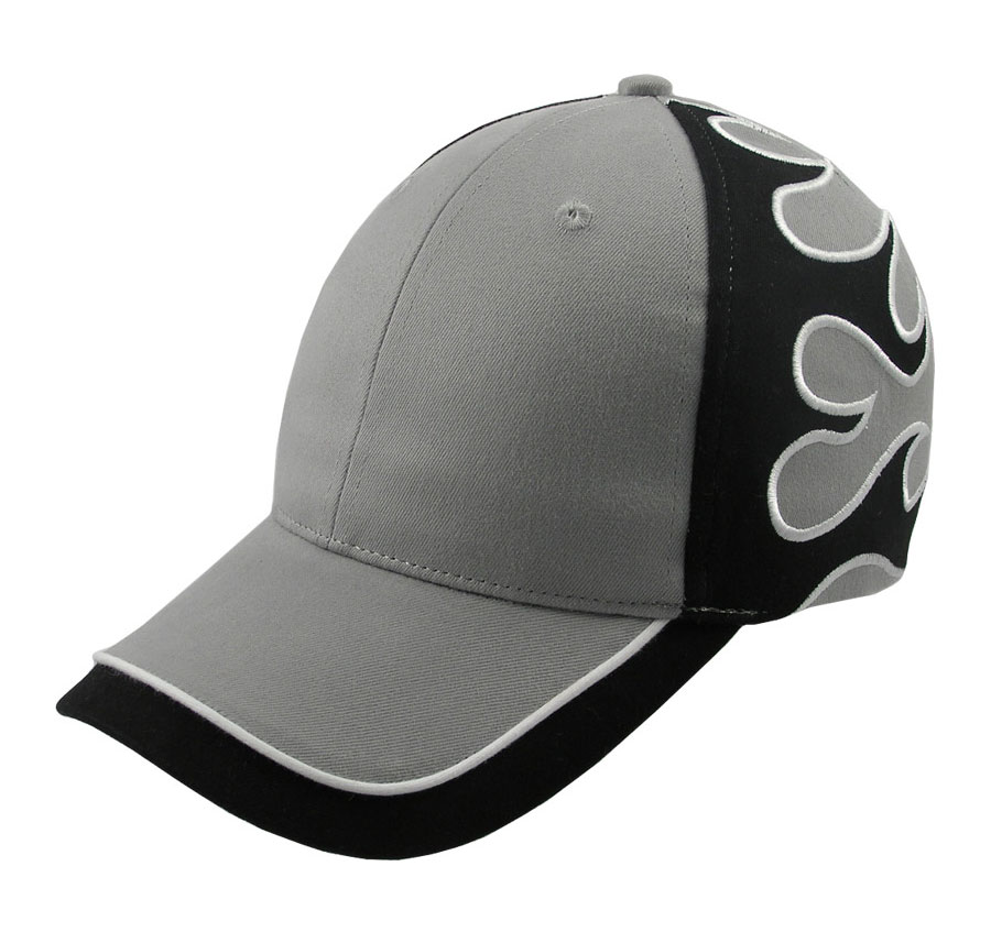 The Indy Cap with Adjustable Hook and Loop Back
