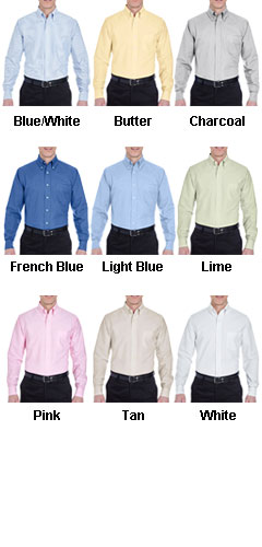 UltraClub Longsleeve Oxford Dress Shirt - All Colors