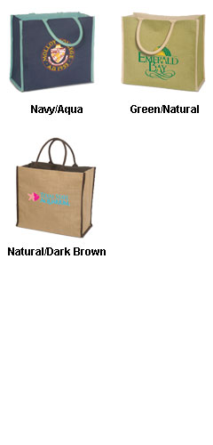 Super Jute Lined Tote Bag - All Colors
