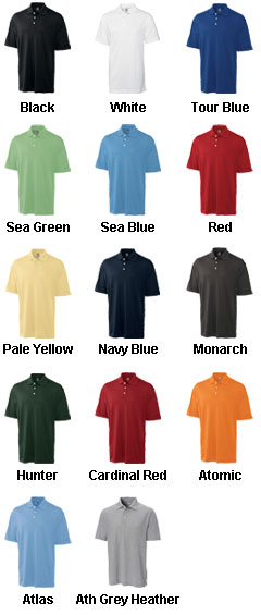 Mens Big and Tall CB Drytec™ Elliott Bay Polo - All Colors