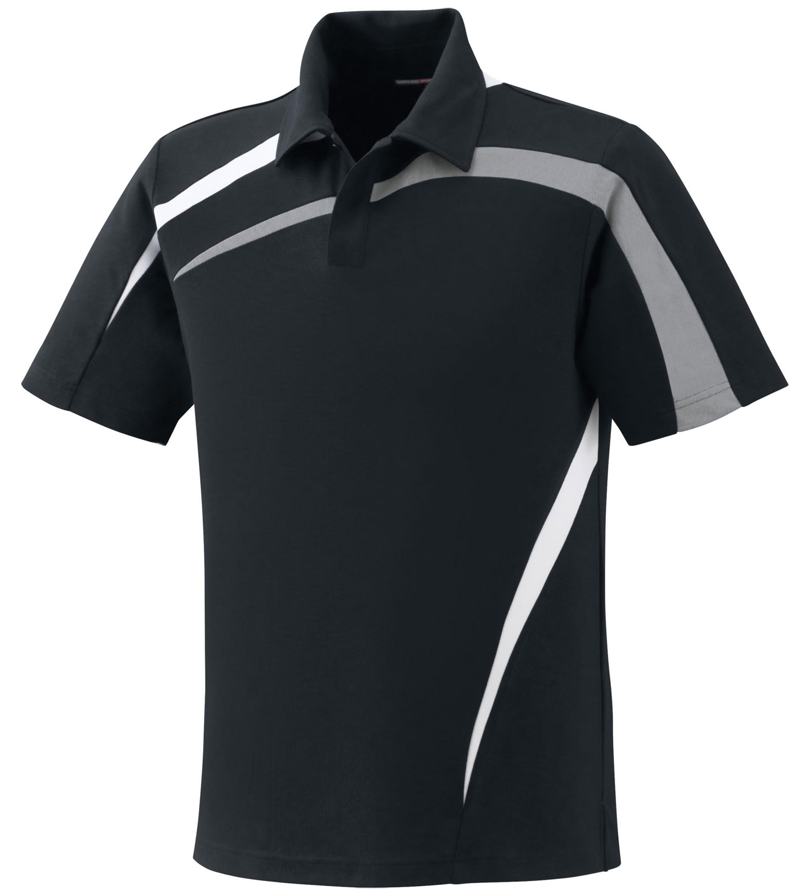 d6ee967f Mens Performance Polyester Pique Color-Block Polo - Design Online or Buy It  Blank