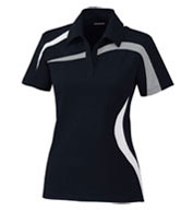 Custom North End Ladies Impact Performance Colorblock Polo