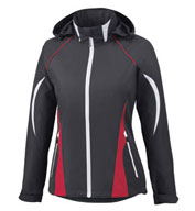 Custom North End Ladies Active Lite Colorblock Jacket