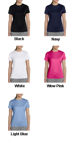 Hanes Ladies 4 oz. Cool Dri® with FreshIQ T-Shirt - All Colors