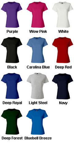 Hanes Ladies  100% Ringspun Cotton Nano T-Shirt - All Colors