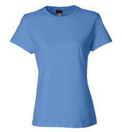 Custom Hanes Ladies 100% Ringspun Cotton Nano T-Shirt