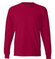 Custom Hanes Beefy Long Sleeve Mens T-Shirt
