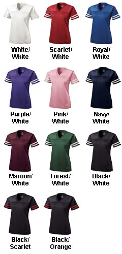 Junior Fit Fame Fan Jersey - All Colors