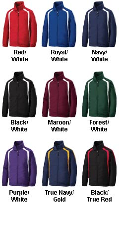 Youth Colorblock Raglan Jacket - All Colors