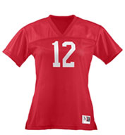Custom Youth Girls Replica Football Jersey