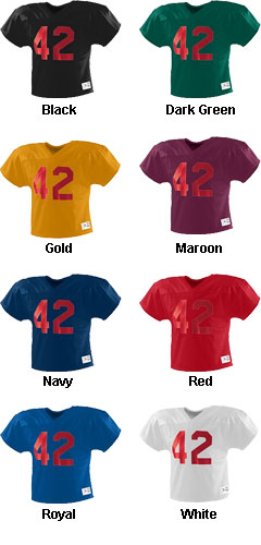 Adult Two-A-Day Football Jersey - All Colors
