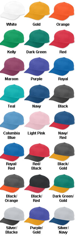 Youth Cotton Twill Low-Profile Cap with Snap Back Closure - All Colors