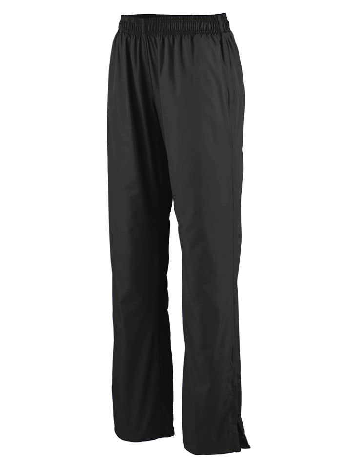 Ladies Zip Bottom Warm Up Pants