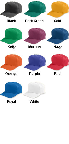 Youth Five-Panel Cotton Twill Cap With Snap Back - All Colors